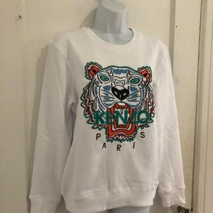 Kenzo Embroidered Tiger 🐯 Head Sweatshirt Sz 6